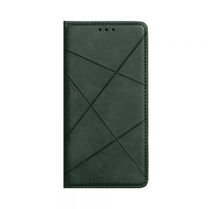 Чехол-книжка Business Leather for Xiaomi Redmi Note 8T Цвет Зелёный