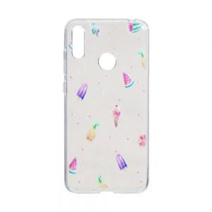 Чехол TPU Juicy Print for Huawei Y7 2019 Цвет Арбуз