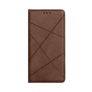 Чехол-книжка Business Leather for Samsung A71 Цвет Коричневый