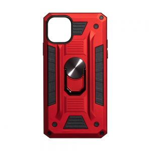 Чехол Robot Case with ring for Apple Iphone 11 Цвет Красный