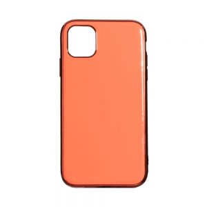 Чехол Case Original Glass TPU for Apple Iphone 11 Pro Цвет Розовый