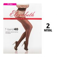 Колготки женские Elizabeth 40 den PRESTIGE T-Band Natural 2 - фото 2