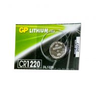 Батарейка GP дисковая Lithium Button Cell 3.0V CR1220-7U5 Li