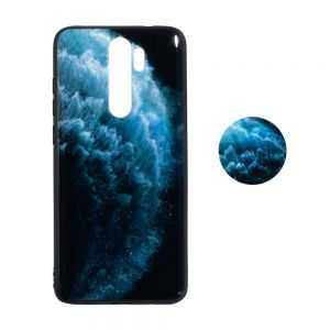 Чехол TPU Print with Popsocket for Xiaomi Redmi Note 8 Pro Цвет Волна