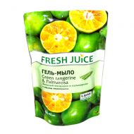 Крем-мыло Fresh Juice дой-пак 460 мл green tangerine&palmarosa