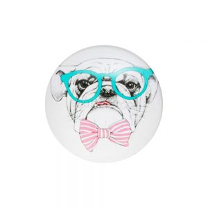 PopSockets Smile Цвет Dog with glasses Y532