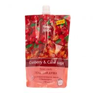 Гель для душа Fresh Juice Cranberry & Cane Sugar 170 мл (дой-пак)