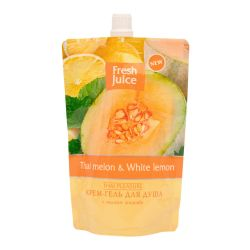 Гель-крем для душа Fresh Juice Thai Melon & White Lemon 170 мл (дой-пак)