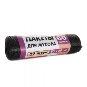 Пакет для мусора Super Choice Worki LD 60*80/60л  10 шт. черный