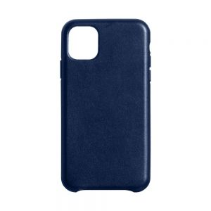 Чехол Leather Case for Apple Iphone 11 Pro Цвет Midnight Blue