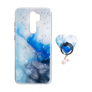 TPU Print with Ring for Xiaomi Redmi Note 8 Pro Цвет Небо